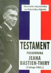 Testament pułkownika Jeana Bastien-Thiry