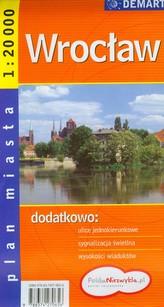 Wrocław plan miasta 1: 20 000