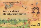Zeszyt ćwiczeń muzycznych klasa 4