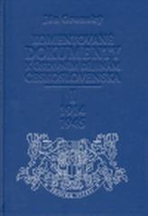 Komentované dokumenty k ústavním dějinám Československa I. 1914-1945