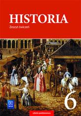 HISTORIA ZESZYT ĆWICZEŃ DLA KLASY 6 SZKOŁY PODSTAWOWEJ 177234