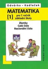 Matematika pro 7.roč.ZŠ,1.díl
