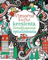 Vianočná kniha kreslenia, čmárania a vymažovávania