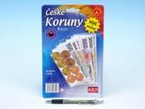 České koruny - peníze do hry