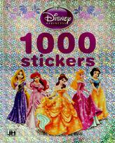 1000 samolepek Princezny