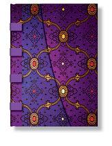 Adresář - French Ornate Violet Wrap, midi 120x170