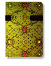 Adresář - French Ornate Vert, mini 95x140