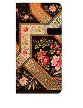 Adresář - Filigree Floral - Ebony, slim 90x180
