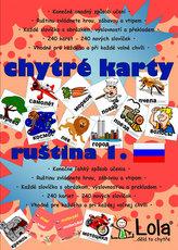 Chytré karty - Ruština slovíčka 1