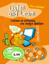 Listen and Learn Cvičenia na počúvanie pre malých školákov + 2 CD