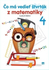 Čo má vedieť štvrták z matematiky 4