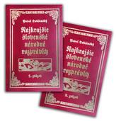 Komplet 2 ks Najkrajšie slovenské národné rozprávky