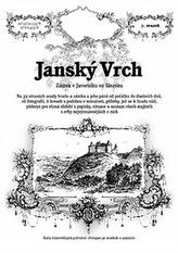Janský VrchRostislav VojkovskýRadim MohylaBrožovaná bez přebalu matná978-80-87712-49-8