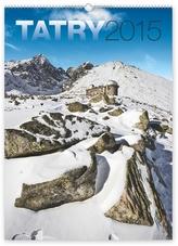Tatry - nástěnný kalendář 2015