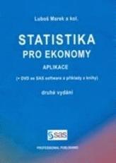 Statistika pro ekonomy Aplikace + DVD, 2.vydání