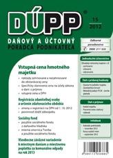 DUPP 15/2012 Vstupná cena hmotného majetku