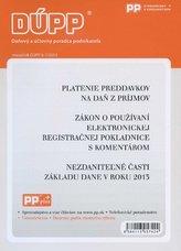 DUPP 6-7/2013 Platenie preddavkov na daň z príjmov