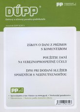DUPP 8/2013 Zákon o dani z príjmov s komentárom