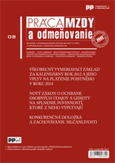 Práca, mzdy a odmeňovanie 8/2013