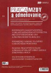 Práca, mzdy a odmeňovanie 11/2013