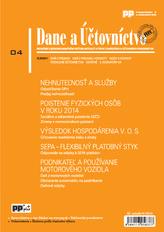 Dane a účtovníctvo 4/2014