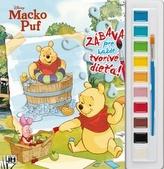 Vymaľ s farbami Macko Puf