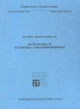 Matematika IV. - Statistika a pravděpodobnost