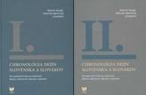 Chronológia dejín Slovenska a Slovákov I.-II. zväzok
