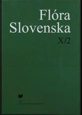 Flóra Slovenska X/2