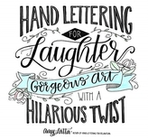 Hand Lettering for Laughter
