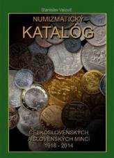 Numizmatický katalóg československých a slovenských mincí 1918-2014