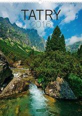 Tatry - nástěnný kalendář 2016