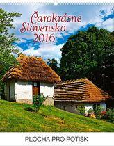 Čarokrásne Slovensko Praktik - nástěnný kalendář 2016