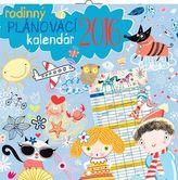 Rodinný plánovací - nástěnný kalendář 2016