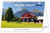Tipy na výlety - stolní kalendář 2016