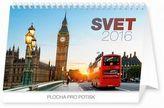 Svet - stolní kalendář 2016