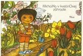 Michalka v kvetinovej záhrade