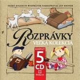 Rozprávky pre deti - komplet 5 CD