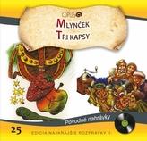 CD-Najkrajšie rozprávky 25- Mlynček / Tri kapsy
