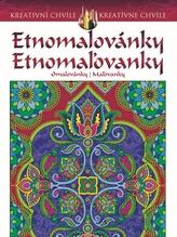 Etnomalovánky - Omalovánky pro dospělé inspirované populárním uměním mehndi a paisley designem