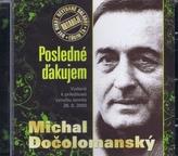 CD-Posledné ďakujem - Michal Dočolomanský