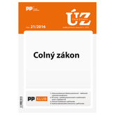 UZZ 21/2016 Colný zákon