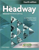 New Headway Fourth Edition Advanced Workbook with Key and iChecker CD-ROM