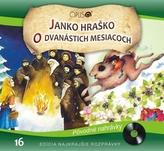 CD - Najkrajšie rozprávky 16 - Janko Hraško, O dvanástich mesiacoch