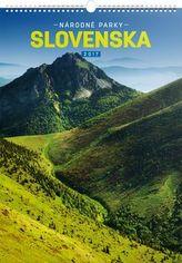 Národné parky Slovenska SK - nástěnný kalendář 2017
