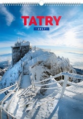 Tatry SK - nástěnný kalendář 2017