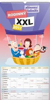 Rodinný plánovací XXL - nástenný kalendár 2017
