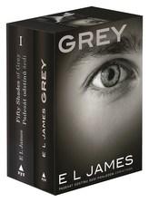 Padesát odstínů šedi + Grey BOX