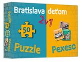 Bratislava deťom-Pexeso a Puzzle