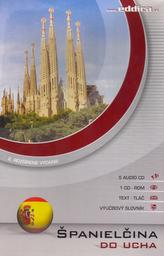 Španielčina do ucha 5 AUDIO CD + 1 CD ROM